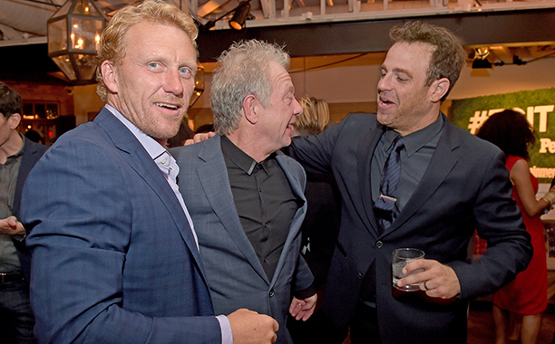 Kevin McKidd, Jeff Perry, and Paul Adelstein