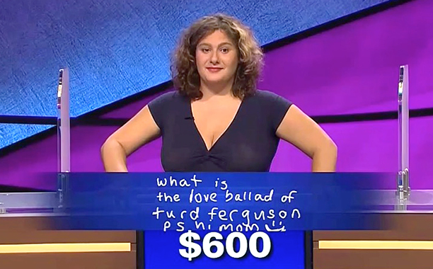 Talia Lavin, Jeopardy!