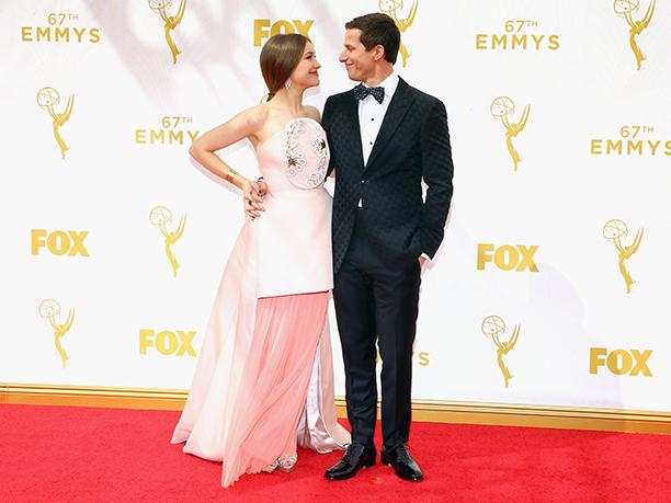 Joanna Newsom and Andy Samberg
