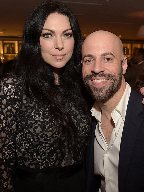 Laura Prepon and Chris Daughtry