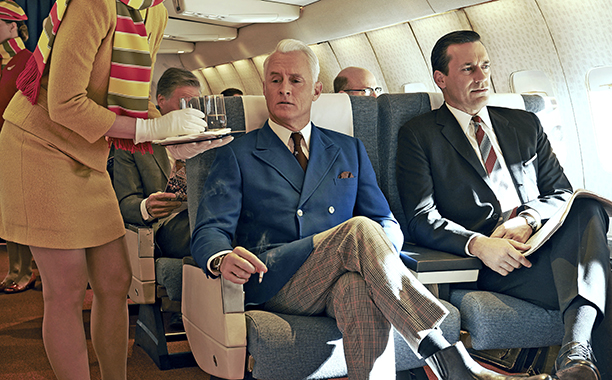 Roger Sterling and Don Draper, Mad Men