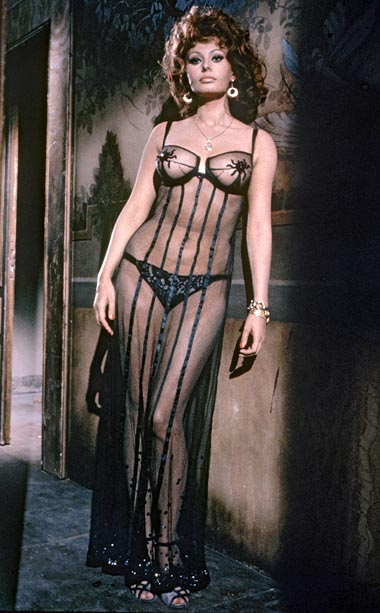 Sophia Loren   Loren gave a tour-de-fource performance as a prostitute in this sexy foreign film, which was sold to American distributors on the basis of Loren's transparent…