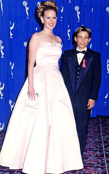 Molly Ringwald and Jonathan Taylor Thomas had a teen idols convention at the 1996 Emmys