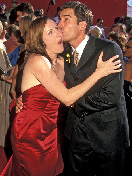 Molly Shannon and Eric McCormack