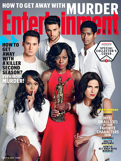 Viola Davis and the Cast of How to Get Away With Murder on the Cover of EW