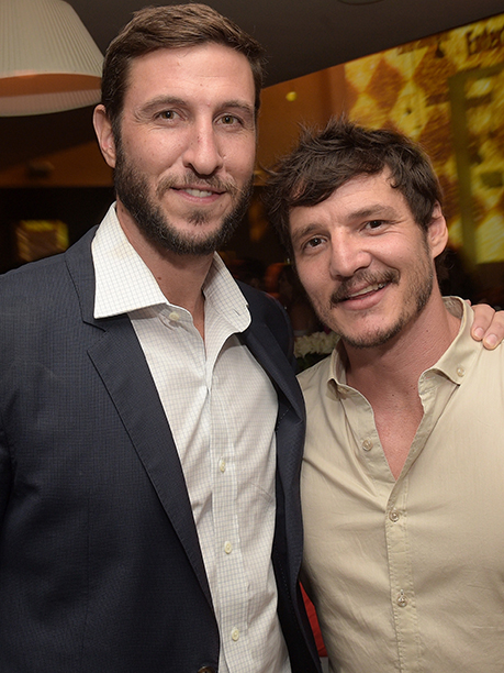 Pablo Schreiber and Pedro Pascal