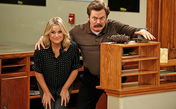"8. Parks and Recreation ""Leslie and Ron"" (NBC)"