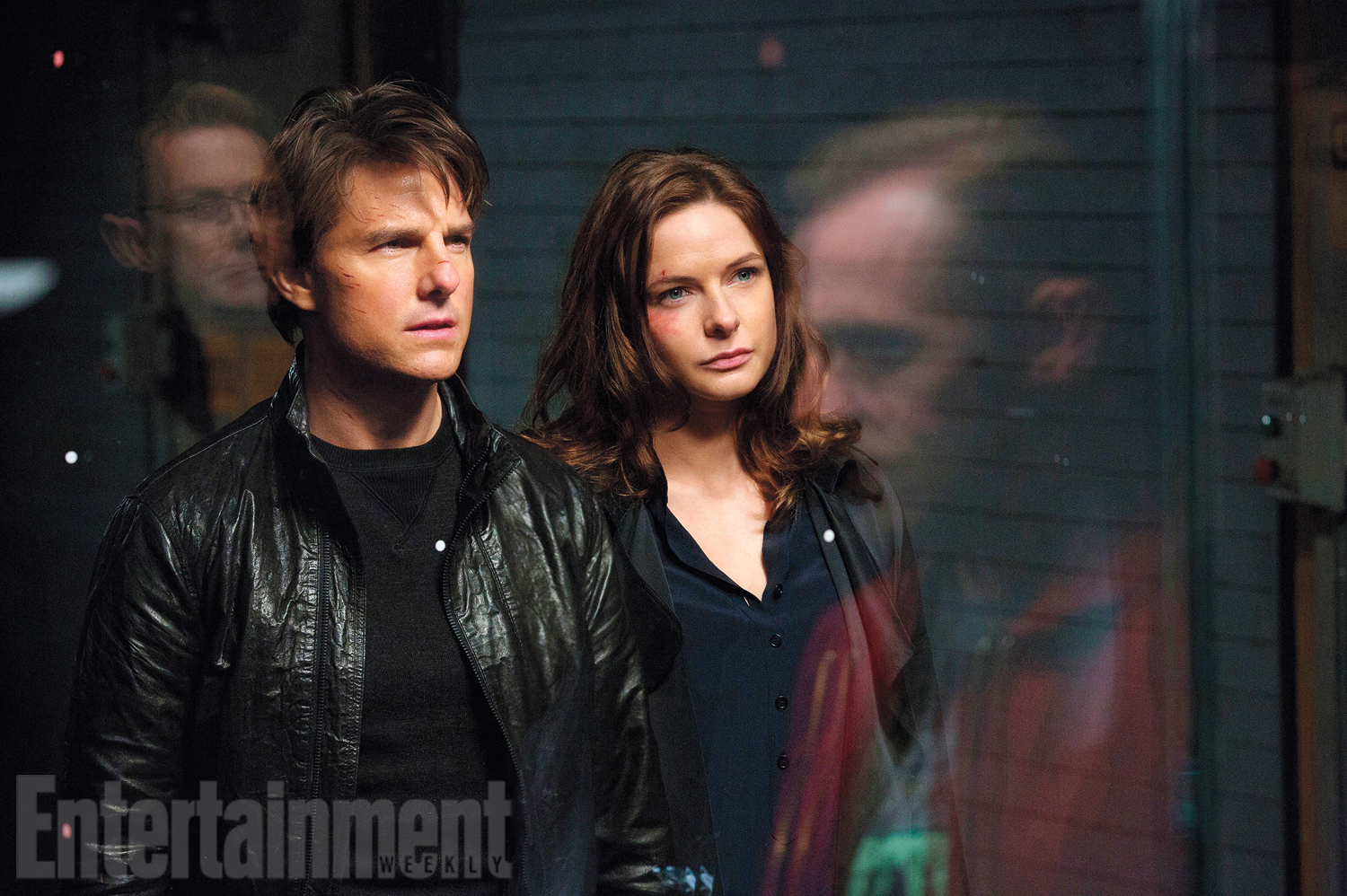 Tom Cruise and Rebecca Ferguson in Mission: Impossible - Rogue Nation