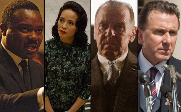 David Oyelowo, Carmen Ejogo, Tom Wilkinson, and Tim Roth in Selma