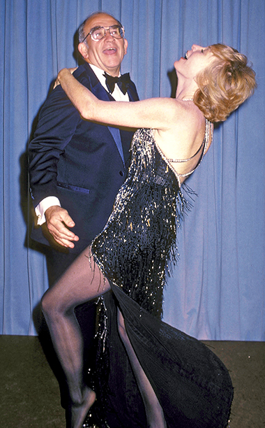 Ed Asner and Shirley MacLaine had a ball at the Emmys in 1981