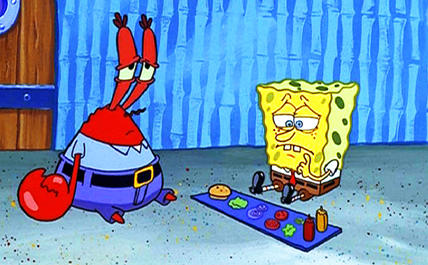 SpongeBob SquarePants and Mr. Krabs, SpongeBob SquarePants
