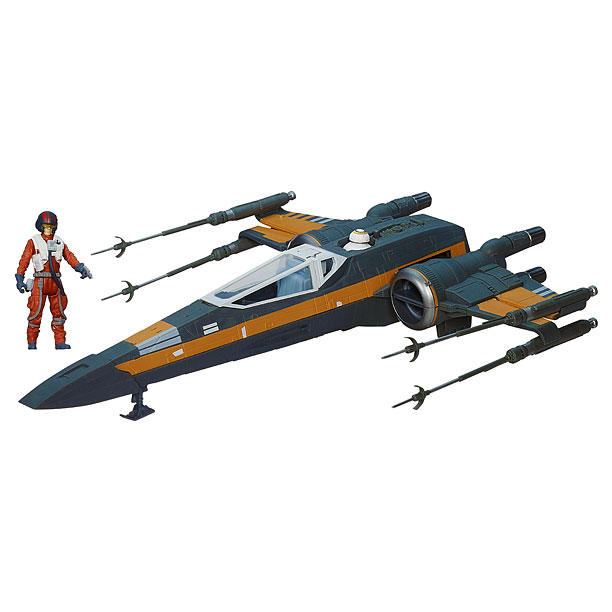 Poe Dameron's X-Wing fighter ($49.99)