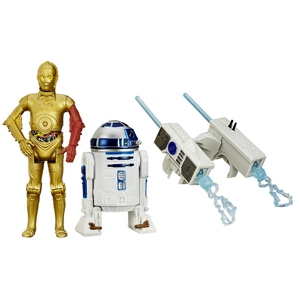 Two Pack - R2-D2 and C-3PO ($14.99)