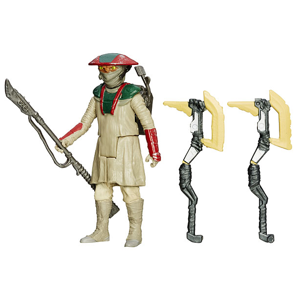 Star Wars Build-a-Weapon - Constable Zuvio ($7.99)