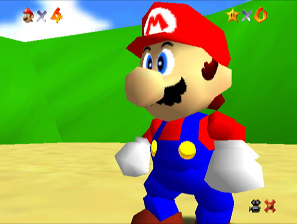 Super Mario 64 (1996, Nintendo 64)