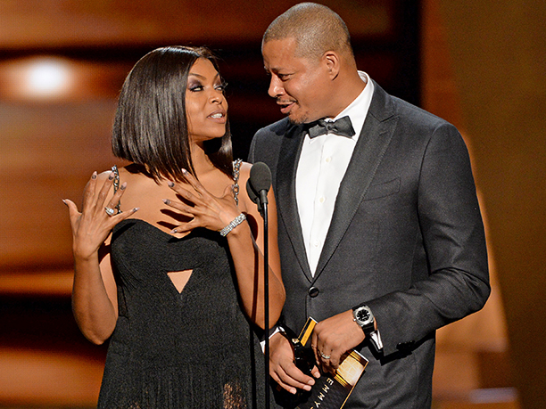 WORST: Terrence Howard and Taraji P. Henson's awkward interactions on stage
