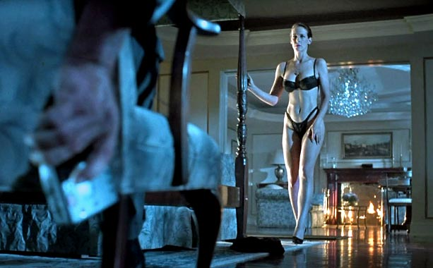 Jamie Lee Curtis, True Lies   Audiences saw Jamie Lee Curtis in a new light after her character's sexy striptease in James Cameron?s 1994 action flick. Fun fact: the black bra…