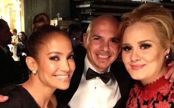 Jennifer Lopez and Adele