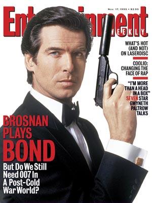 Pierce Brosnan as James Bond (1995 - 2002)