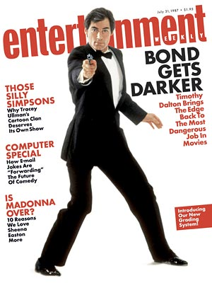 Timothy Dalton as James Bond (1987 - 1989)