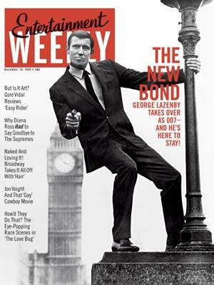 George Lazenby as James Bond (1969)