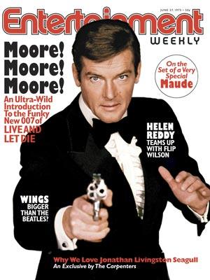 Roger Moore as James Bond (1973 - 1985)