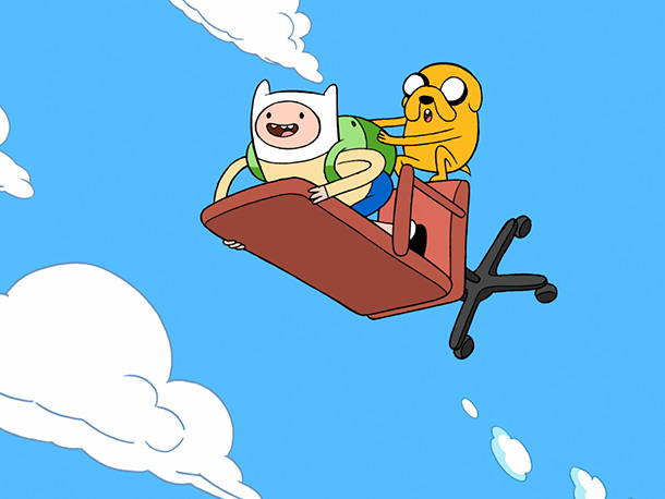 Adventure Time on Cartoon Network