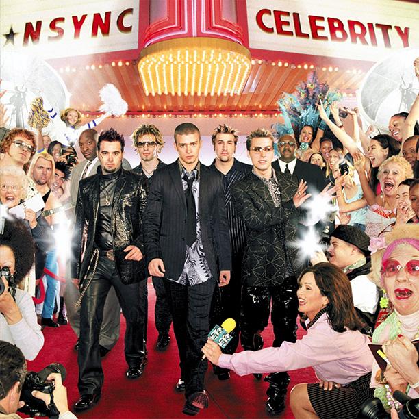 'Celebrity,' their last album cover