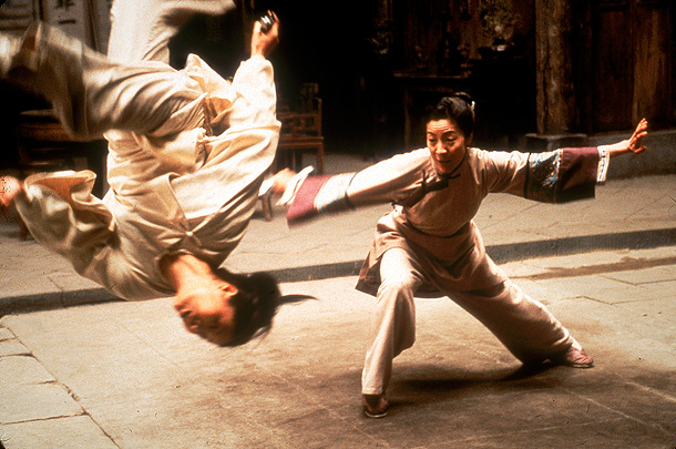 Michelle Yeoh, Crouching Tiger, Hidden Dragon | Yeoh starred in a string of Hong Kong action movies in the early '90s, usually performing her own stunts. That work informs her iconic role…