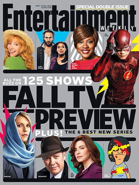 For more on American Horror Story: Freak Show , plus 124 more new and returning shows, pick up a copy on newsstands now or buy…