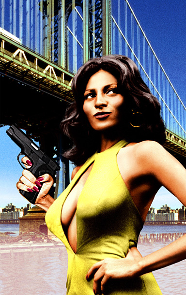 Pam Grier, Foxy Brown | She's a whole lotta woman — and tight outfits won't stop her from taking her revenge. (Take note, Emily Thorne .)