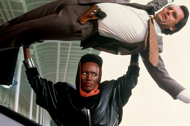 A View to a Kill, Grace Jones | Maybe the worst James Bond movie ever, A View to a Kill is rescued by two things: The Duran Duran song, which might be one…