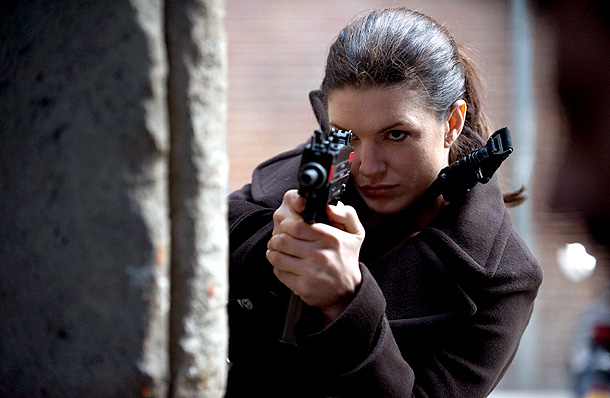 Gina Carano, Haywire | With a little bit of creative editing — and a whole lot of wire-removing digital effects — just about any model-perfect actress can look like…