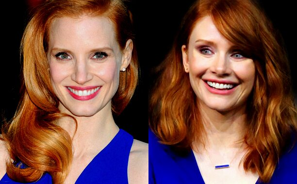 Jessica Chastain and Bryce Dallas Howard hung out together | EW.com