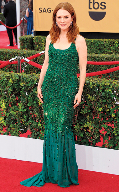 Julianne Moore in Givenchy Haute Couture, 2015 SAG Awards