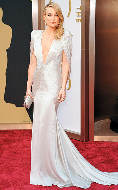 Kate Hudson in Atelier Versace, 2014 Academy Awards
