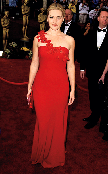 Kate Winslet in Ben de Lisi, 2002 Academy Awards