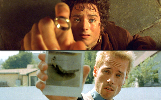 Lord of the Rings: The Fellowship of the Ring and Memento (2001)