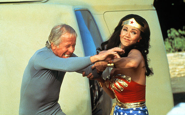 The ultimate female superhero, Wonder Woman doesn't need much to win a fight. Sure, the invisible plane and her lasso help, but weapons are just…
