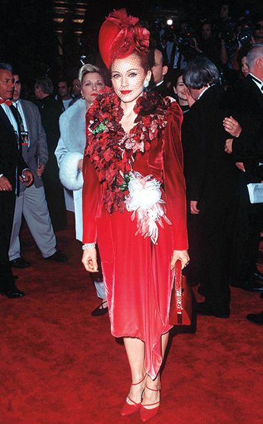 Madonna in Givenchy, 1996 Evita Premiere