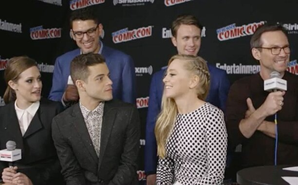 Nycc Mr Robot Cast On Shooting Intense Scenes Ew Com