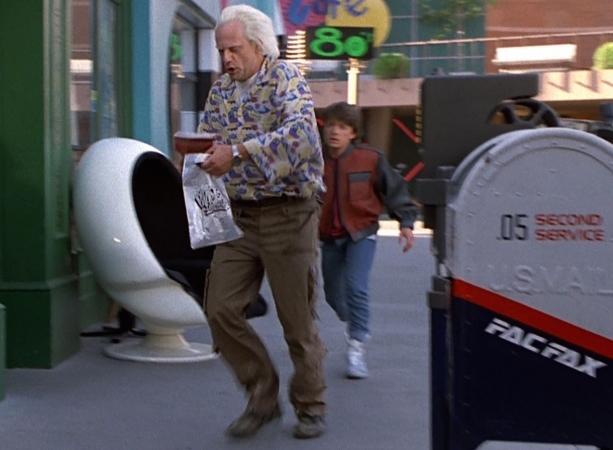 DIDN'T HAPPEN: Fax-machine mailboxes