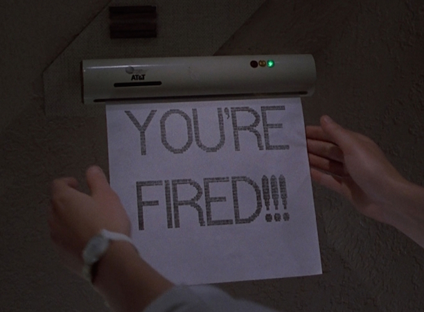 DIDN'T HAPPEN: Fax machines in every room of the house