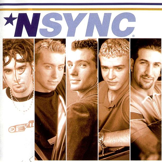 NSYNC's first album cover, *NSYNC