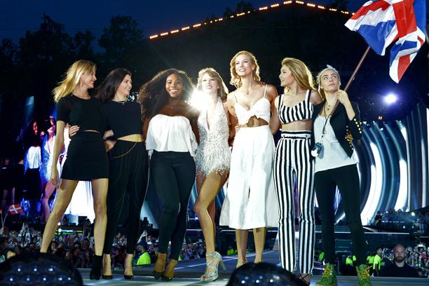 "Martha Hunt, Kendall Jenner, Serena Williams, Karlie Kloss, Gigi Hadid, Cara Delevingne, ""Style"""