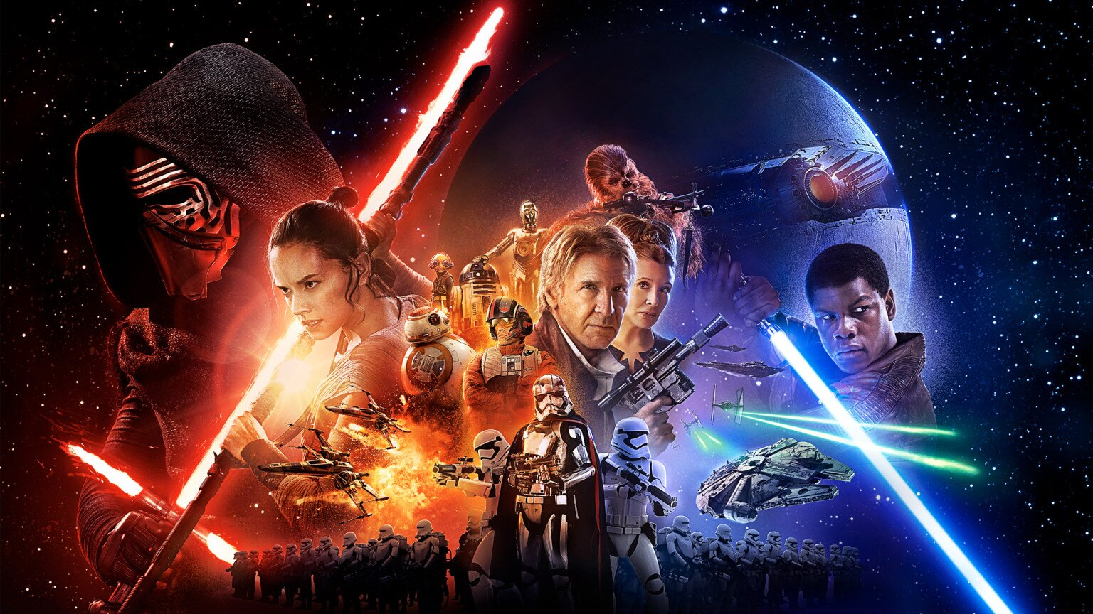 Star Wars: The Force Awakens poster and trailer announced! | EW.com