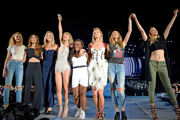 "Candice Swanepoel, Lily Aldridge, Uzo Aduba, Karlie Kloss, Behati Prinsloo, Gigi Hadid, ""Style"""