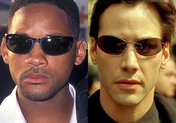 Will Smith – Neo (Keanu Reeves) in The Matrix