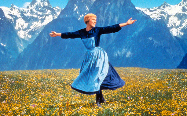 The Sound of Music (1965) G, 174 mins., directed by Robert Wise, starring Julie Andrews, Christopher Plummer