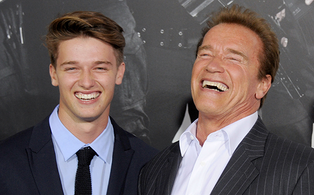 Patrick Schwarzenegger, Arnold Schwarzenegger
